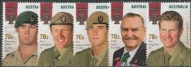AUS SG4304-8 Australian Legends (19th Series): The Victoria Cross set of 5